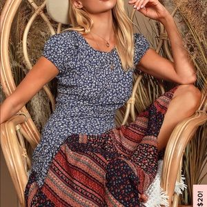 Free People Dresses - Free People Aurelia Backless Midi Dress